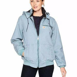 •Carhartt• Baby Blue Womens XXL Jacket/Coat